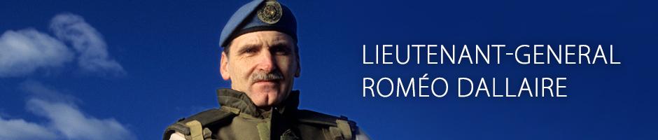 Lieutenant-General Roméo Dallaire