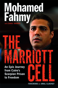 Mr. Fahmy's book cover entitled The Marriott Cell