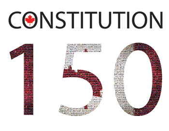 Logo of the Constitution 150 series of conferences